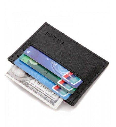 Fonmor Thin Credit Card Holder Fashion Mini ID Holders Business Wallet
