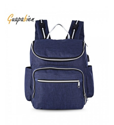 Guapabien Large Capacity Maternity Backpack Multifunctional Baby Nappy Bag