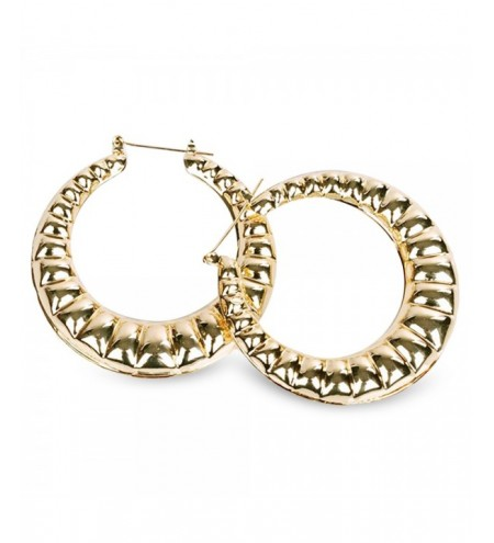Big Round Circle Shape Hoop Earrings