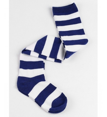 Winter Striped Pattern High Knee Socks