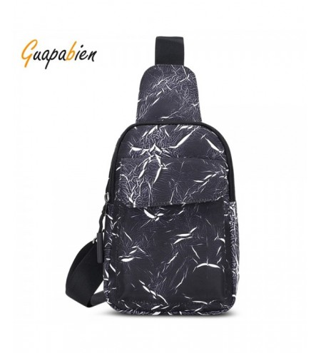 Guapabien Casual Crossbody Chest Men Women Bag Single Shoulder Style