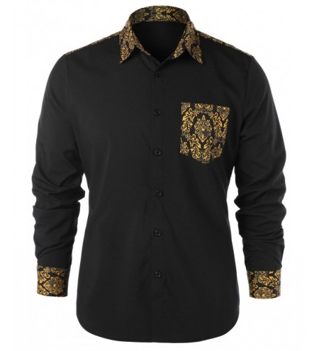 Long Sleeve Tribal Print Shirt