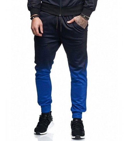 Gradient Side Pocket Jogger Pants