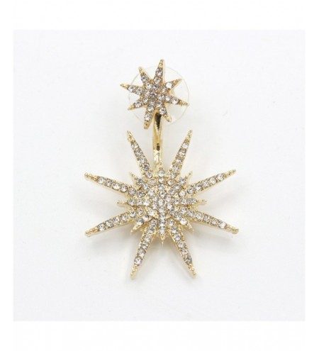 Fashionable Delicate Lady Six Mang Star Ear Nails