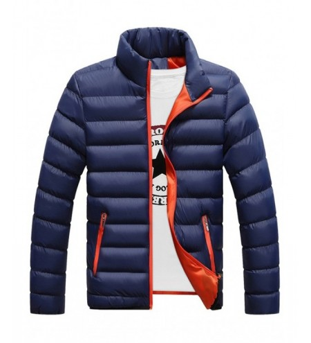 Men Warm Jacket Cotton Winter Padded Coat Classic Style