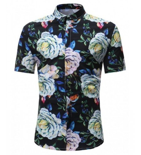Floral Short Sleeve Vacation Shirt
