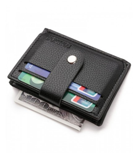 Fonmor Business Men Wallet with Zipper Coin Pocket Designer Men Purse Card Holder