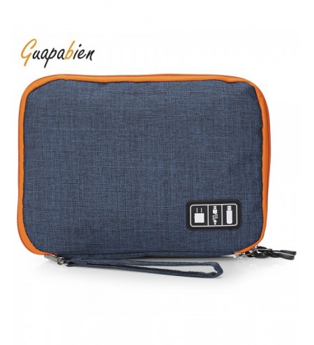 Guapabien Double-deck Digital Bag USB Cables Storage