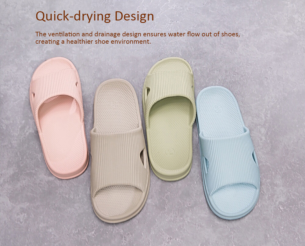 One Cloud Soft Anti-slip Antibacterial Massage Slippers for Bathroom Home