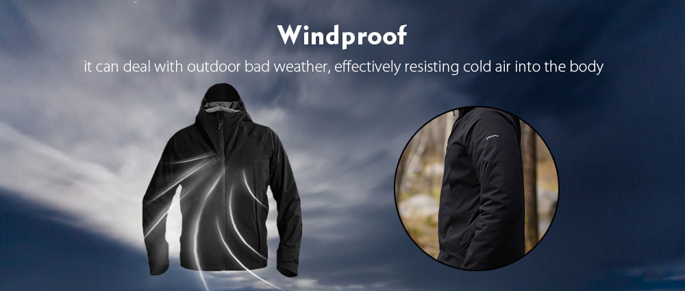 Zaofeng Waterproof Breathable Three-in-one Jacket